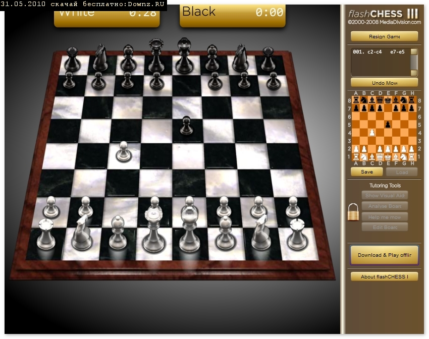 фото Флеш шахматы играть онлайн. Flash Chess Online Game