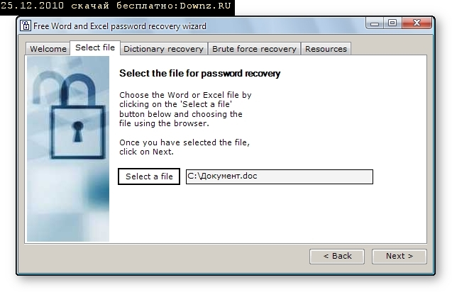 Password Recovery Excel 2003 Free