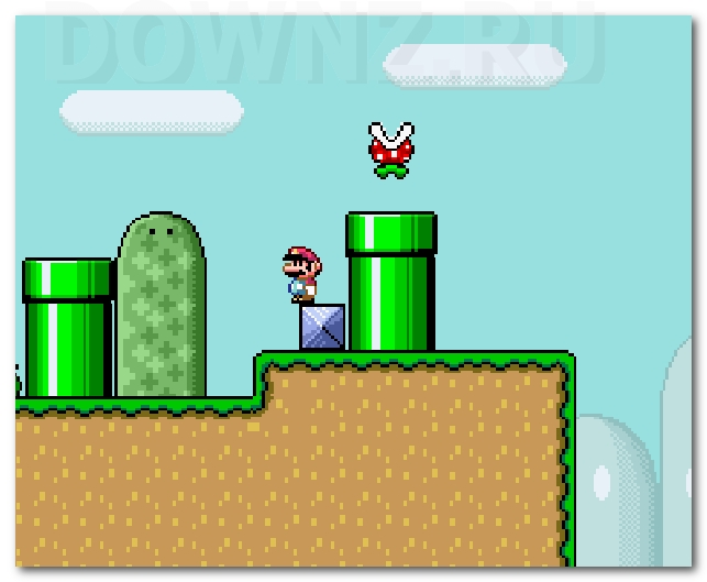 фото Monoliths Mario World 2 Марио бродилка приключения ретро игра про Марио