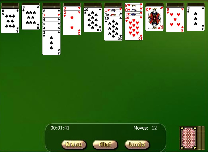 ���� ������� ���� ������ ������ ��������� ���� ���� Spider solitaire