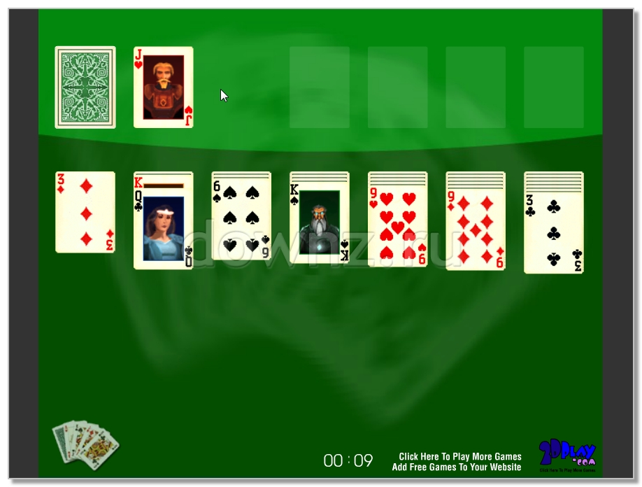 фото Solitaire Пасьянс Косынка легендарная Windows карточная игра