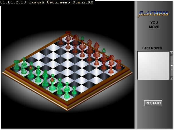 ���� ������� ������ ���������� ������� ���� Flash Chess 3D Game