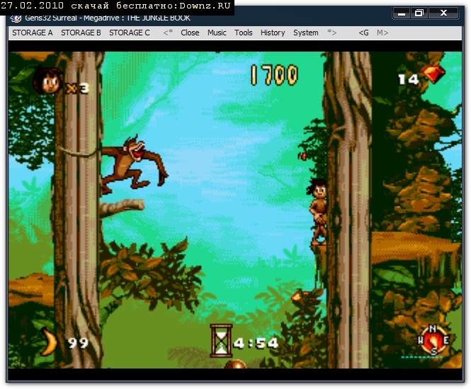 Jungle Book Sega Rom